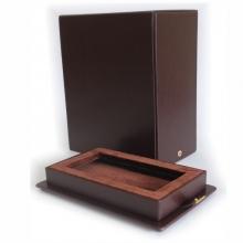 Dirbtinės odos dėžutė 25X14X10 cm