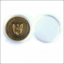 Plastmasinė kapsulė 45 mm monetai